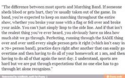 I love it when they say 70+ person band like its a crazy thing when im in a 275 member band lol: Band Music, Amen, Marching Band, Band Geek, Band Nerd, Bandgeek, Marching Bands, Music Band