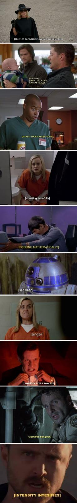 I so love subtitles <3: Sad Beep, Hilarious Subtitles, Supernatural Subtitles, Awesome Subtitles, Funny Stuff, Funny Quotes, Netflix Subtitles, Funny Subtitles