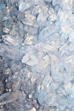 Ice blue: Crystals, Gemstone, Inspiration, Quartz Crystal, Color, Blue, Mineral, Texture, Rock