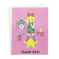 If you aren't being thanked by a band of cats, something is wrong.: Kitty Cards, Cats, Cards Xoxo, Band, Paper Goods, Thank You Cards, Card You Ve, Products, Cat Lady
