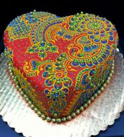 Indian wedding cake: Ideas, Indian Weddings, Cake Design, Indian Wedding Cakes, Amazing Cakes, Food, Beautiful Cakes, Heart Cakes
