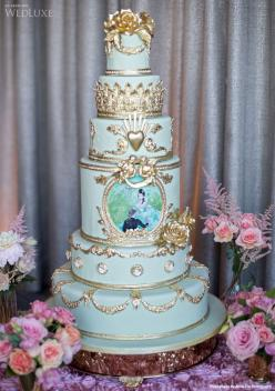 Indian Weddings Inspirations. Blue Wedding Cake. Repinned by #indianweddingsmag indianweddingsmag.com: Amazing Cakes, Awesome Cakes, Wedding Cakes, Cake Cake, Blue Wedding, Gorgeous Cake