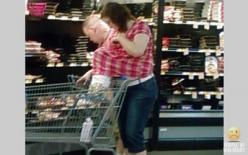 IS HER SON PLAYING HIDE AND SEEK OR IS IT LUNCHTIME AT WALMART. NO McDONALDS FOR HIM. FOLLOW THIS BOARD FOR CRAZY AND WILD PICS OF GOINGS ON AND THE WIERDO'S AT WALMART..AC: Humor Peopleofwalmart, Walmartians, Walmart Shoppers, Wal Mart, Walmart Peopl