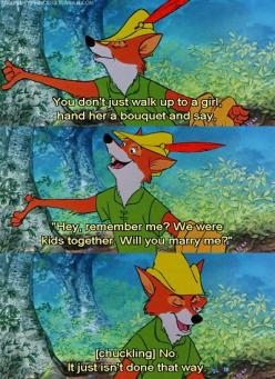 Is it totally weird that I had a super massive crush on the Disney Robin Hood? And when I say had I mean still have? *ehem*: Disney Robin Hoods, Quote, Disney 3, Movies, Robins, Robinhood, Childhood, Favorite Movie, Disney Movie