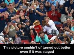 It couldn't have turned out better…: Photos, Red Sox, Faces, Funny Stuff, Pictures, Humor, Funnies