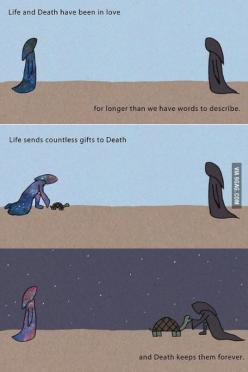 Life and Death. My feels....... :'(: Lifeanddeath, Life And Death, Stuff, Quotes, Beautiful, Art, Random, Things