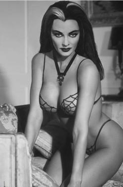 Lily Munster pin-up.: Sexy, Girl, Lily Munster, Lilies, Lilymunster, Yvonnedecarlo, Yvonne De Carlo, Pinup, Pin Up