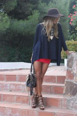 Love this outfit: Fashion, Style, Loose Top, Outfit, Spring Summer