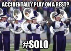 Marching Band Problems...this was me yesterday: Band Problem, Marching Band, Band Stuff, Band Nerd, Funny, Only, Band Memes, Band Geeks, Marching Bands