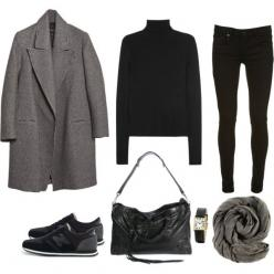 """Minimal + Classic: """"Untitled #77"""" by bittealt: Untitled 77, Nordic Fashion Style, Nordic Style Clothes, Nordic Style Fashion, Black Turtleneck Outfit, Minimal Chic, Athleisure Outfits, 77 """""""
