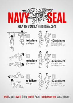 Navy SEAL Workout: Navy Seal Workouts, Navy Seal Training Workouts, Fitness, Seal Bodyweight, Exercise, Bodyweight Workout, Navy Seals Workout, Navy Workout, Quick Workout