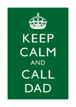 No matter how old you are... or in my case, freak out and call dad so he can calm you down.: Truth, My Life, Keepcalm, So True, Keep Calm, Daddys Girl