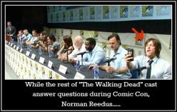 Norman Reedus - lol! Such a normal dude. Love it.: Things Norman, Selfie, Daryl Dixon, Norman Reedus, Normanreedus, Daryldixon, Walking Dead, Walkingdead, Twd