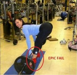 OMG Gym Fails. LOL must see through all 10 photos. #10 will for sure get you laughing!: Girls, Sexy, Fitness, Booty, Ass, Gym, Yoga Pants, Heels, Women