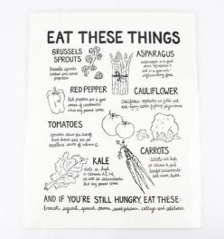 Perfect gift for that super healthy friend!: Print Reminds, Recipe, Food, Healthy, Letterpress Print, Kitchen, Veggie, Products