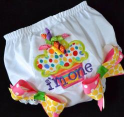 Personalized Diaper Cover Monogrammed Bloomers by DesignsbyCelia, $23.00: Baby Bloomers Embroidery, Baby Diapering, Baby Embroidery Designs, Applique Baby, Baby Girls, 1St Birthday Diaper Cover, Diaper Covers, Baby Diapers