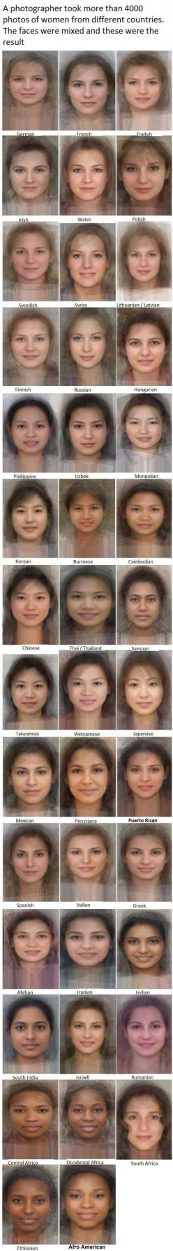 Photographer's Project to Find the Average Face of Women from Each Country...These final portraits are definitely beautiful, the average woman is stunning!: Stuff, Beautiful, Photographer, Photos Of Women, Random, Average Woman, Things, Average Faces, Cou