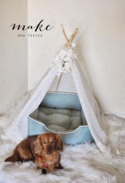 Pie N' the Sky: M A K E :: dog teepee: Bailey Sky Jagger, Teepee Pie, Blog Pie, Cat Stuff, Crafts Diy, Diy Cat, Diy Dog Teepee, Dog Stuff