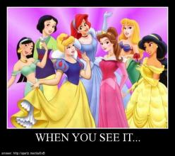 Posters - WHEN YOU SEE IT...: Minute, Picture, Stuff, Disney Princesses, Dresses, Disney Pixar, Things, Snow White