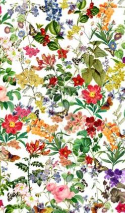 pretty foral print - I want a table cloth like this!: Floral Prints, Print Fabrics Patterns, Wall Paper, Pattern Flower, Patterns Prints Fabrics And, Wallpaper Fabric Patterns, Floral Pattern