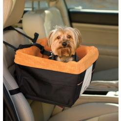 Skybox Pet Booster Seat. A soft window seat for your pup, that isn't your lap!: Pet Booster, Car Seats, Booster Seats, Dogs, Cars, Pets, Skybox Booster, Kurgo Skybox, Skybox Pet