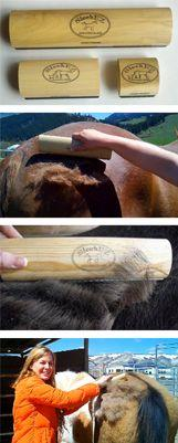 SleekEz grooming tool. I need this for shedding season! Tired of buying grooming blocks.: Works Awesome, Draft Horses, Work Awesome, Horse Grooming Tools, Danny Horses, Grooming Blocks, Combs Work, Horses Barns, Buying Grooming