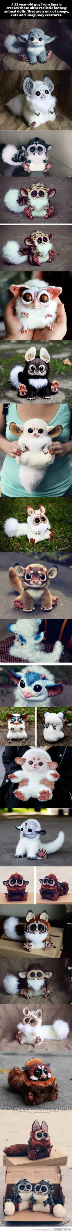 So cool: Http Santani Deviantart Com, Stuff, Awesome, Animal Dolls, Creatures, Random, Foxes, Ultra Realistic Fantasy