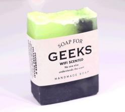 Soap for Geeks looking at the actual scent ingredients on the side, that actually sounds really good: Geeks Soap, Soaps, River Soap, Geeky Toys, Gift Ideas, Gifts, Gifting Ideas, Products, Geeks No