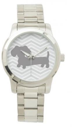 Stainless Steel Dachshund Watch – The Smoothe Store: Steel Dachshund, Watch Bracelets, Dachshund Watches
