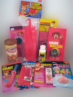 STARTER PRANK KIT...... We have assembled 10 of our all time favorite jokes and pranks and put them all in one fantastic kit. www.theonestopfunshop.com: Fantastic Kit, Starter Prank, Favorite Pranks, Prank Starter, Prank Kit, Prank Staff, Perfect Starter