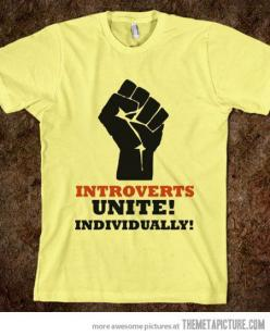 """❁❁❁Thanks, Pinterest Pinners, for stopping by, viewing, pinning, &  following my boards.  Have a beautiful day! And """"Feel free to share  #justhouses on Pinterest""""✮✮"""" #didyouknow #mymuscleplan: Awesome Shirt, Introvert T Shirt, Funny Tshirt, Introv"""