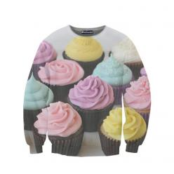 The most incredible novelty sweatshirts from belovedshirts.com: Sweaters, Fashion, Style, Clothes, Beloved Shirts, Sweatshirts, Cupcake Sweatshirt, Closet, Products