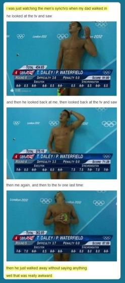 This is my favorite thing ever.: Awkward Moments, Giggle, Cant, My Dad, Funny Stuff, Tom Daley, Can'T Stop Laughing
