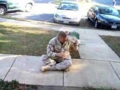 This is why dogs are our best friends!  Welcome home!: Animals, Soldiers, Happiest Dogs, Afghanistan Returning, Dog Welcomes, Homes, Dogs Reaction