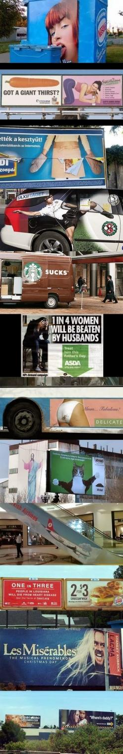This Pin was discovered by Amanda D. Discover (and save!) your own Pins on Pinterest.: Laughing So Hard, Funny Billboards Hilarious, Billboard Fails, Awkward Ad, So Funny, Pinterest Fail, Funny Signs Fails, Ad Placements