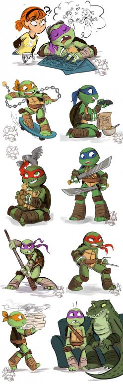 TMNT Stuff 2 by sharpie91.deviantart.com on @deviantART: Face, Tmnt Stuff, Cartoon, Tmnts, Teenage Mutant Ninja Turtles, Turtlepower, Halfshell