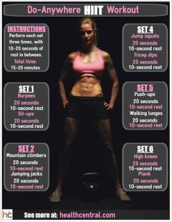 Try a HIIT Workout: Looking for a new workout routine that will boost your metabolism, burn fat and build muscle? Read about the new HIIT workouts:  http://www.healthcentral.com/diet-exercise/c/255251/169826/body-hiit-workouts/?ap=2012: Cardio Workouts, H