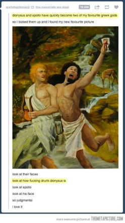 Wat.: Picture, Face, Apollo, Greek Gods, You Re Drunk, Greek Mythology, Percy Jackson