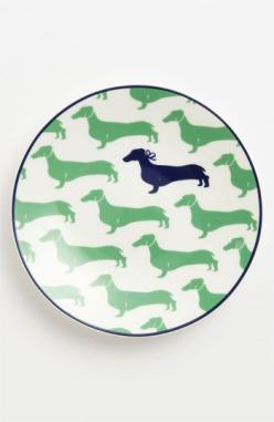 We all know someone who loves dachunds and needs these tidbit plates: York Wickford, Tidbit Plates Me, Dachshund Plates, App Plates, New York, Kate Spade, Plate Sets
