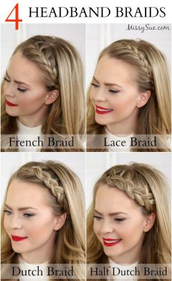 We <3 this! Finally one place to find tutorials for those gorgeous headband styles! Which is your favorite?: Bang Braid, Plaits Hairstyle, Braided Hairstyles Tutorial, Hair Braid, Braid Hair Tutorial, Hair Styles Braid, Braided Hair Tutorial