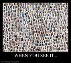 when you see it…creepy! Helps if you get closer to the screen.: Mobile Phones, Artists, Artist Liu, Hiding, Cities, Invisible Man, Photography, Liu Bolin, Camouflage