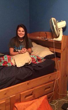 When You See It ... really look....it's in the right corner where the mattress  meets the frame.