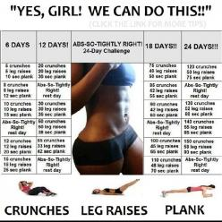 Workout challenge #Fitnesstips #Fitnessproducts #wieghtloss: Challenges, Abs, Fitness, Workouts, Ab Challenge, Exercise, Work Out, Health