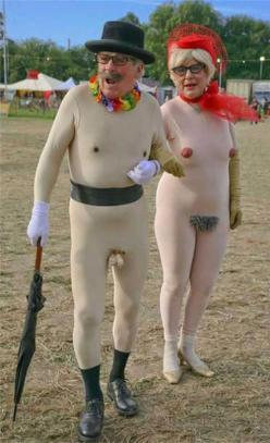 wtf: Naked Costume, Funny Shit, Halloween Costumes, Funny Stuff, Humor, Funnies, Senior Citizen, Things