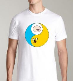 Yin/Yang Adventure Time: Fashion Nerd Geek, Awesome T Shirts, Adventure Time, Awesome Clothes, Cartoon Comic, Of Adventures, Cosas Lindas Cosas, Lexi S Stuff, Yin Yang Adventure