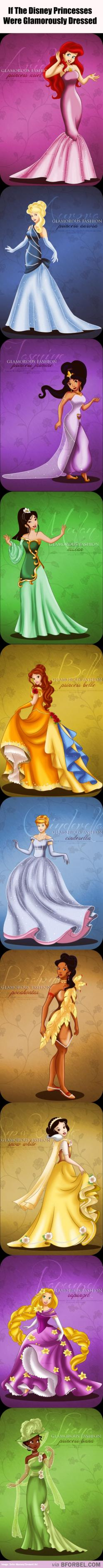 10 Glamorously Dressed Disney Princesses…: Dressed Disney, Dressed Princesses, Disney Princesses I, Mulan S Dress, 10 Glamorously, Glamorously Dressed, Belle, Princesses Disney, Cinderella