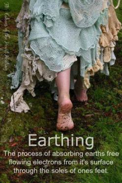 """Earthing"" is something we all need to do more often to ""ground"" us all !!! (i love my earthly feet: Life, Inspiration, Stuff, Things, Mother Earth, Walk, Fairytale, Barefoot"