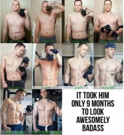 9 months! I should take one pic every month for motavation: 10 Months, Weight Loss, Weights, Fitness Inspiration, Exercise, Fitness Motivation, Weightloss, Health, Workout
