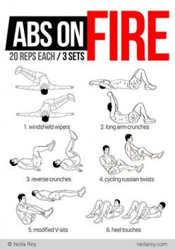 Ab workout  Why Crunches and Sit Ups do NOT Get You Six Pack Abs http://www.be-warrior.us/2013/02/why-crunches-and-sit-ups-do-not-get-you.html: Abs Exercise, Abs Motivational Workouts, Abs Workout, Workouts Shape Health, Work Outs, Fire Workout, Fitness E