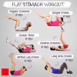 Abs exercise.: Flat Stomach Workouts, Flatstomach, Abs, Flat Tummy, Fitness, Work Outs, Exercise, Health
